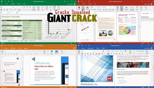 OfficeSuite Premium Crack 10.20.30162 Full Free Download 2020