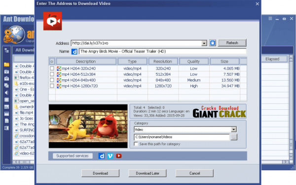 Ant Download Manager Pro Crack 1.19.2 Free Download 2020