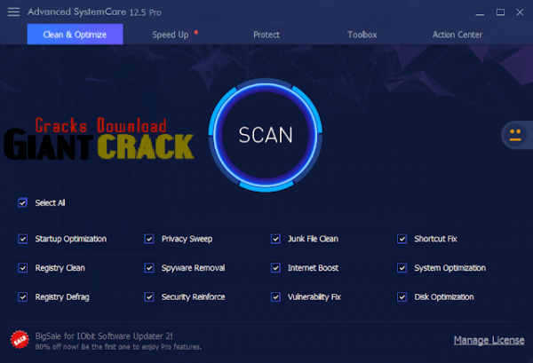 Advanced SystemCare Pro Crack 13.0.6.291 Free Download 2020