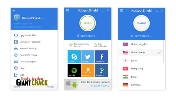 Hotspot Shield Elite Crack 10.2.3 With License Key 2020