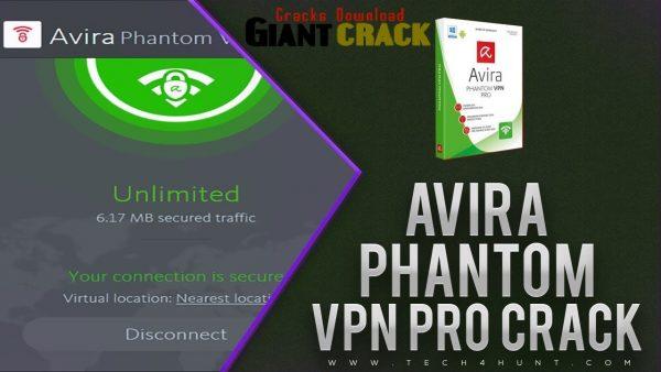 Avira Phantom VPN Pro 2.37.3.21018 Crack + Key Full [2021]