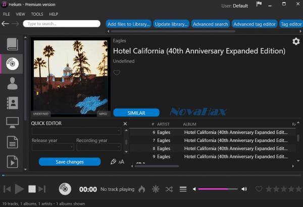 Helium Music Manager Premium Crack 14.8.16501 + Key Full Version [Latest]