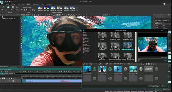 VSDC Video Editor Pro Crack 6.5.1.197 +Full Version [ Latest ]