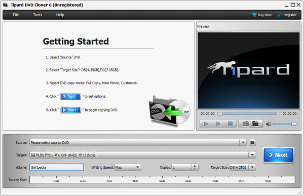 Tipard DVD Cloner Crack 6.2.38 + Serial Key Download [Latest] 2020