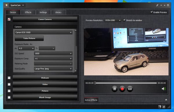 SparkoCam 2.7.3 Crack + Free Serial Number 2021 Latest