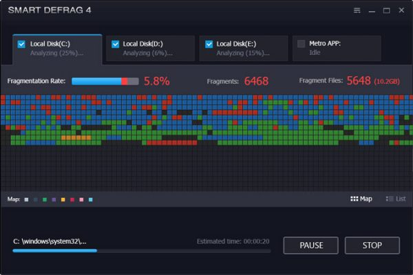 IObit Smart Defrag Pro Crack 6.6.0.68 Plus Key {Latest}