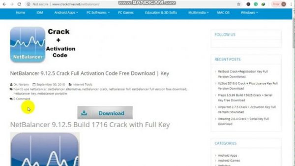 NetBalancer Crack 10.1.3.2430 + Latest Version [2021]