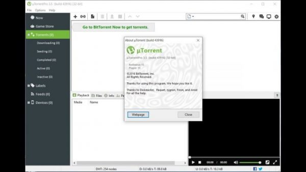 Utorrent Pro Crack 3.5.5 Build 45828 Stable for PC Download [Latest]