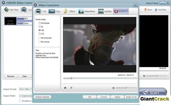 GiliSoft Video Converter 11.1.0 Crack + Serial Key 2021 [Latest]