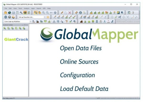 Global Mapper Crack 22.0.1 With Torrent 2021 [Latest]