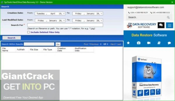 SysTools Hard Drive Data Recovery Crack + 16.0.0.0 With [Latest Version] 2021