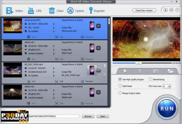 WinX HD Video Converter Deluxe 5.16.2.332 With Crack [Latest]