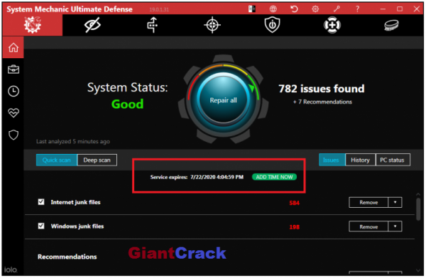 System Mechanic Ultimate Defence Crack 20.7.1.34 + Full Version (2021) Free Download