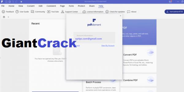 Wondershare PDFelement Pro Crack 8.0.5.217 + Full Latest Download 2021