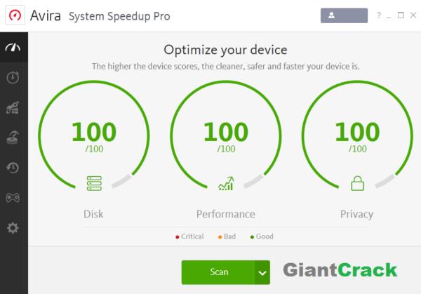 Avira System Speedup Pro Crack 6.9.0.11050 + Free Download [Latest Version]