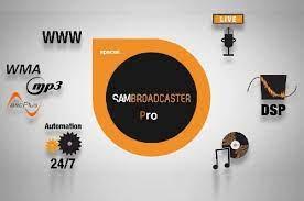 SAM Broadcaster Pro 2021.4 Crack + Key Free [Latest 2022]